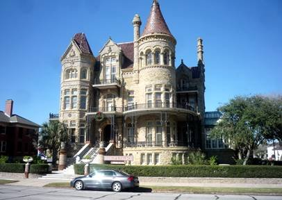 Attractions In Galveston Texas Bishop S Palace